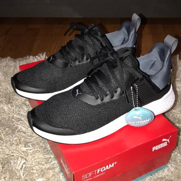 47aab626cc0 Running Insurge Sneakers Mesh Poshmark Black Puma Skor R8vnnI